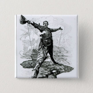 The Rhodes Colossus from Punch 15 Cm Square Badge