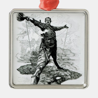 The Rhodes Colossus from Punch Christmas Ornament
