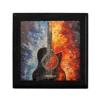 The rhythms of the guitar gift box