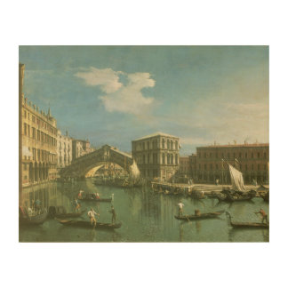 The Rialto Bridge, Venice 2 Wood Wall Decor