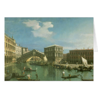 The Rialto Bridge, Venice Card