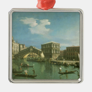 The Rialto Bridge, Venice Christmas Ornament