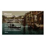 The Rialto Bridge, Venice, Italy classic Photochro Business Cards