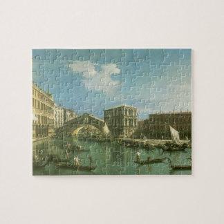 The Rialto Bridge, Venice Jigsaw Puzzle