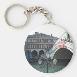 The Rialto Bridge,Venice Key Ring