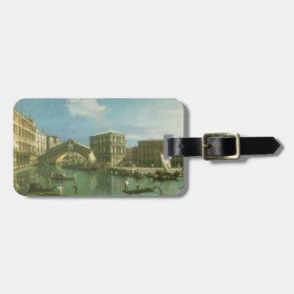 The Rialto Bridge, Venice Luggage Tag