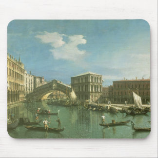 The Rialto Bridge, Venice Mouse Mat