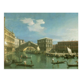 The Rialto Bridge, Venice Postcard