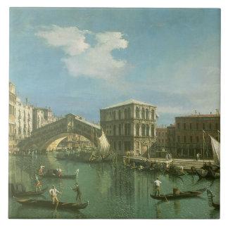 The Rialto Bridge, Venice Tile