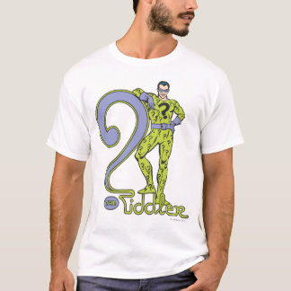 The Riddler & Logo Green T-Shirt