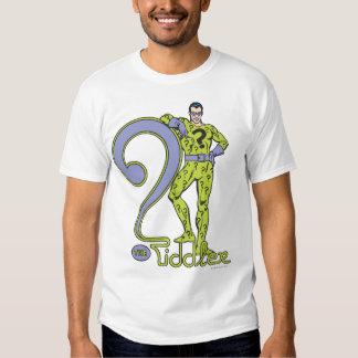 The Riddler & Logo Green Tee Shirt