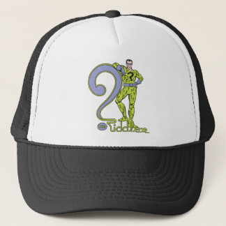 The Riddler & Logo Green Trucker Hat