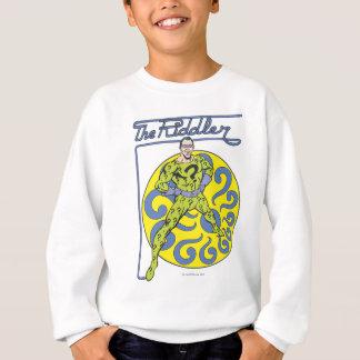 The Riddler & Logo Purple Sweatshirt