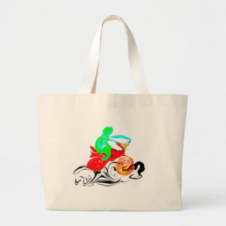 The Ride Large Tote Bag