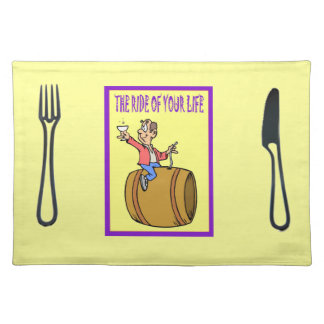 The ride of your life place mats