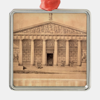 The Riding School of the Imperial Guards, St. Pete Christmas Ornament
