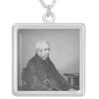 The Right Honourable and Right Reverend Silver Plated Necklace
