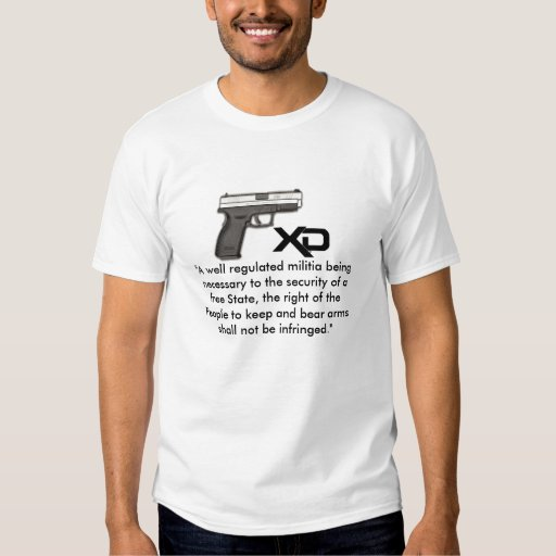 The right of the People to keep and bear arms. T Shirt