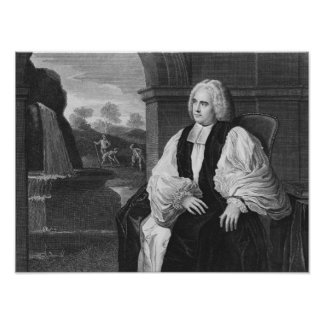 The Right Reverend George Berkeley Poster
