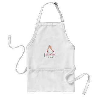 THE RIGHT SHOES STANDARD APRON