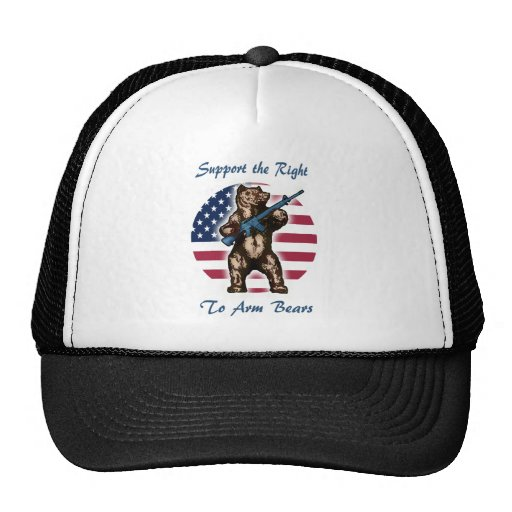 The Right to Arm Bears Trucker Hats