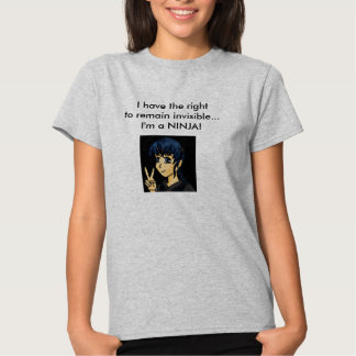 The right to remain invisible tshirts