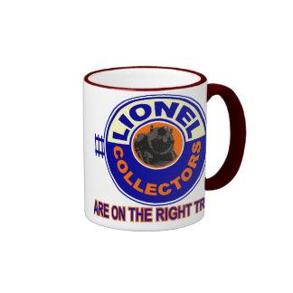 The Right Track Ringer Mug
