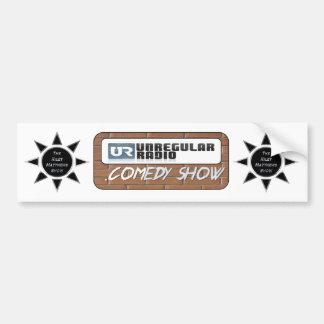 The Riley Matthews Show & UNregularRadio.Comedy Sh Car Bumper Sticker