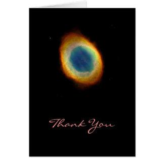 The Ring Nebula Card