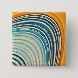 The Rings of Saturn 15 Cm Square Badge