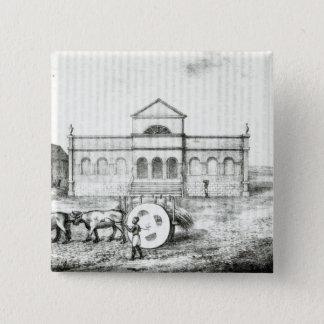 The Rio Exchange, a Public Trapiche 15 Cm Square Badge