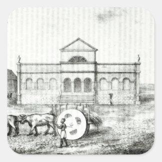 The Rio Exchange, a Public Trapiche Square Sticker