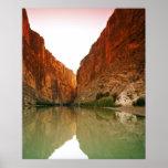 The Rio Grande, Big Bend NP, Texas Poster