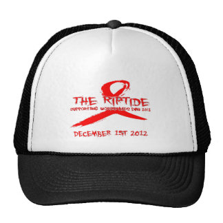 The Riptide World Aids Day 2012 Merchendise Cap