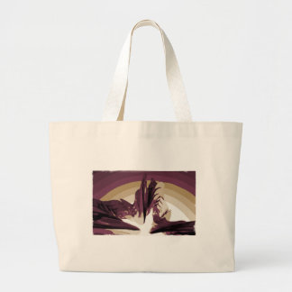 The Rise of Lava Canvas Bag
