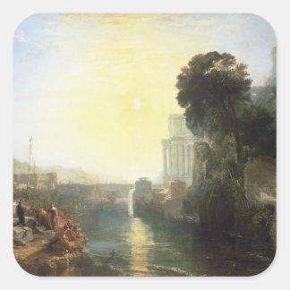 The Rise of the Carthaginian Empire Square Sticker