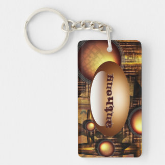 The rise of the Sun-machine Key Chain Rectangle Acrylic Key Chains