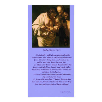 The Risen Christ Sees ApostleThomas-Photo Card