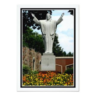 The Risen Jesus 13 Cm X 18 Cm Invitation Card