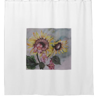 The Rising Sun by Lyn Graybeal Shower Curtain