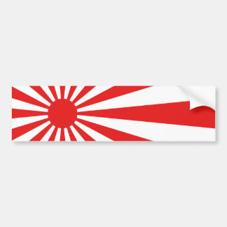 The Rising Sun Flag Bumper Sticker