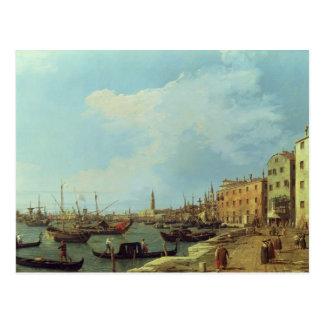 The Riva Degli Schiavoni, 1724-30 Postcard