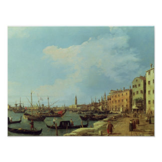 The Riva Degli Schiavoni, 1724-30 Poster