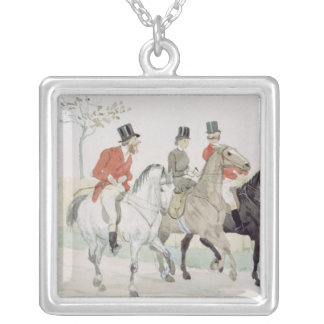 The Rivals Silver Plated Necklace