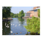 The River Avon at Stratford-upon-Avon Postcard