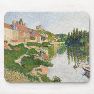 The River Bank, Petit-Andely, 1886 Mouse Mat
