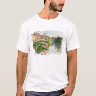 The River Bank, Petit-Andely, 1886 T-Shirt
