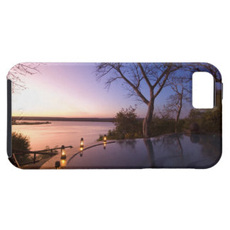 The River Club lodge, sunset on Zambesi River, Case For The iPhone 5