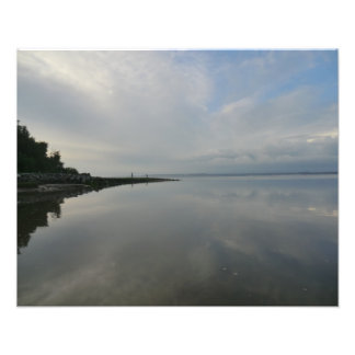 The River Dee in Flint Photographic Print