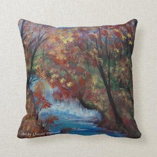 the river flows cushion